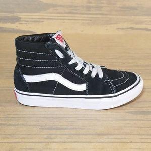 Vans Sk8-Hi Kids Canvas/Suede Sneakers